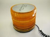Аварийна сигнална оранжева лампа с блиц 12V и 24V