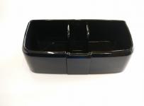 Поставка за чашка двойна черна модел 2