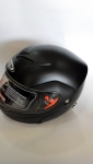Каска шлем вдигаща черен мат дл ИЗЧЕРПАН