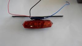 Диоден стоп за мотор с две светлини - габарит и стоп дл