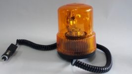 Аварийна сигнална оранжева лампа 12V и 24V