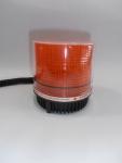 Аварийна сигнална оранжева лампа с блиц 12V