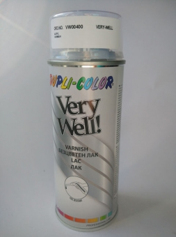 Спрей лак DUPLI-COLOR Very Well безцветен акрилен лак